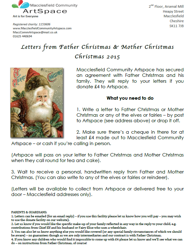 Letters from father christmas mother christmas 2015 cvs cheshire letters from father christmas mother christmas 2015 spiritdancerdesigns Gallery